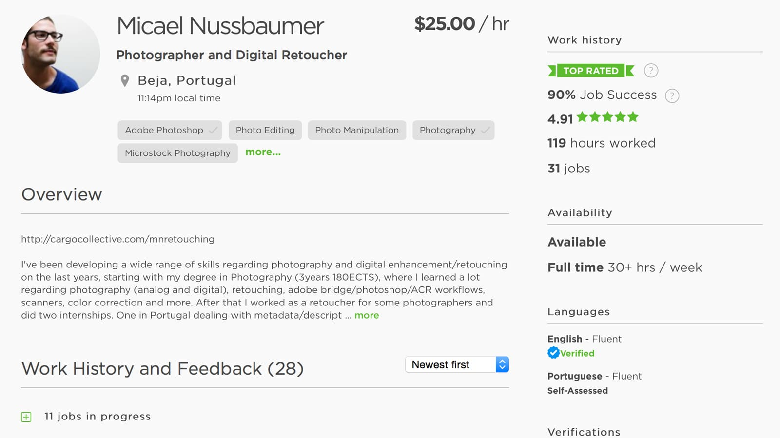 upwork-freelancer-profile
